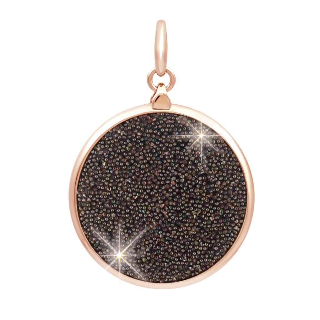 SWAROVSKI黑色水晶飾布迷你圓形MiMetro成人八達通