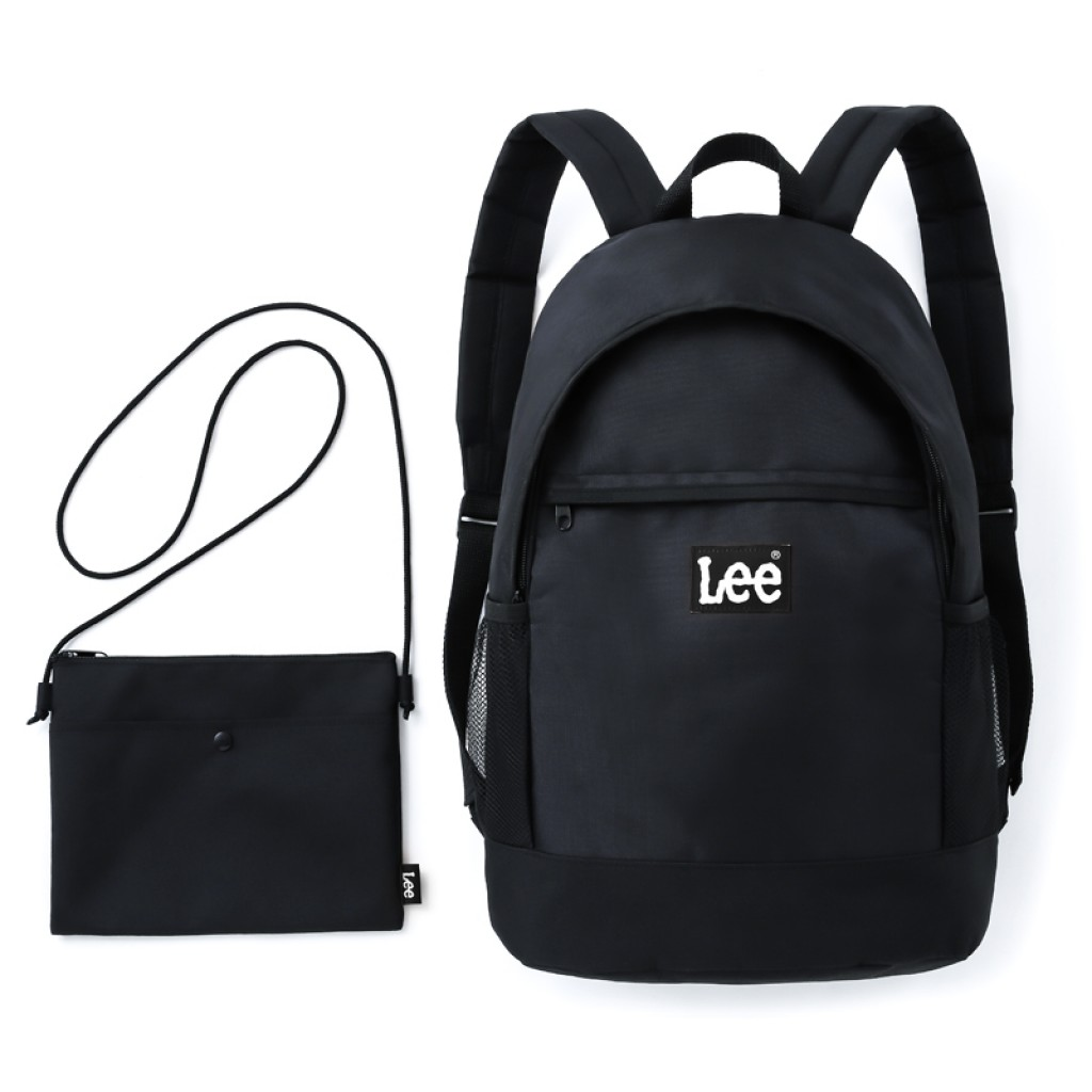 LEE BACKPACK SET BOOK - BLACK