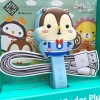 可愛松鼠卡通造型大卷線器(夢遊仙境 - Squly)- E015SQE