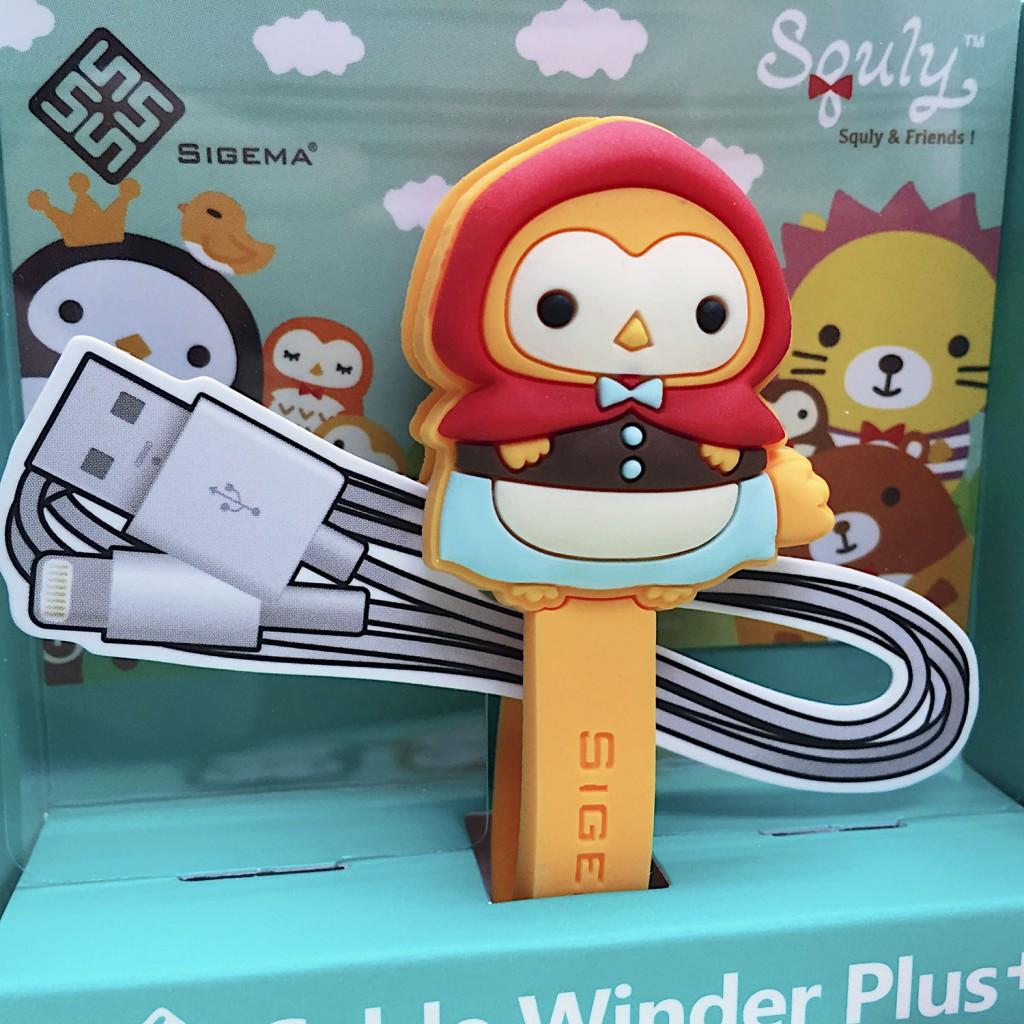 可愛貓頭鷹卡通造型大卷線器 (小紅帽 - Owky) - E016SQE