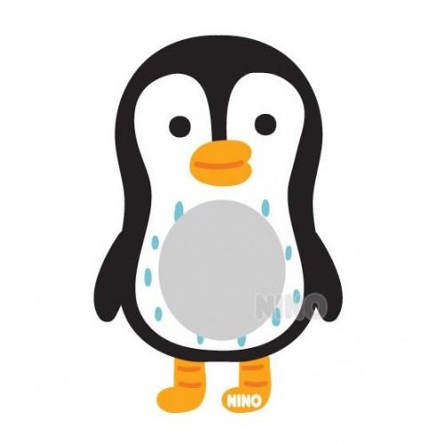 【韓國出品】NINO兒童畫板壁貼鏡 – 小企鵝